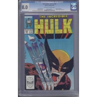 Incredible Hulk [1962] - 340 [CGC 8.0] [Direct E..