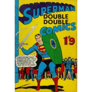 Superman Double Double Comic..