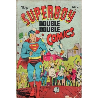 Superboy Double Double Comics [1968] - 2 [GD/VG] [3.0]