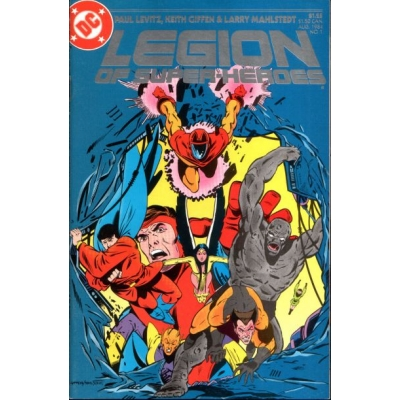 Legion of Super-Heroes [1984] - 1 [Very Fine]