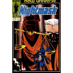 Nightmask [1986] - 8 [VF/NM]