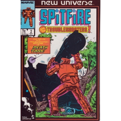 Spitfire and the Troubleshooters [1986] - 2 [VF/NM]