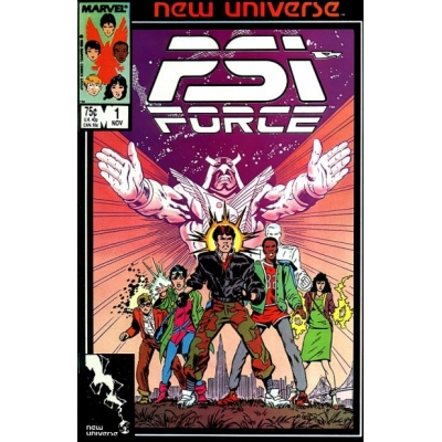 PSI-Force [1986] - 1 [VF/NM]