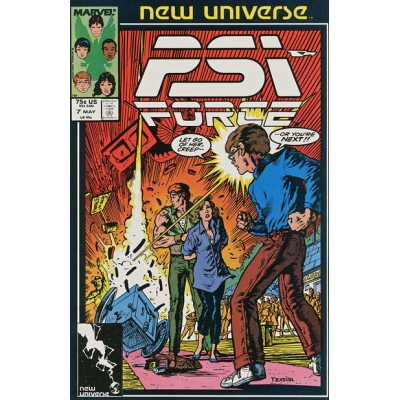 PSI-Force [1986] - 7 [VF/NM]