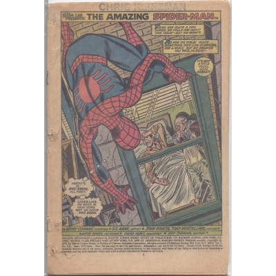 The Amazing Spider-Man [1963] - 121 [INC][0.3][Coverless]