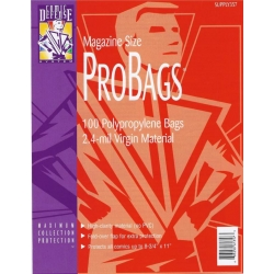 Comic Defense System Magazine Sized Pro Bags