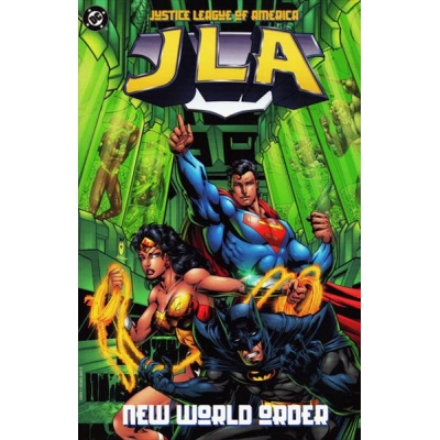 JLA - New World Order [1997] - 1 Trade Paperback [First Printing]