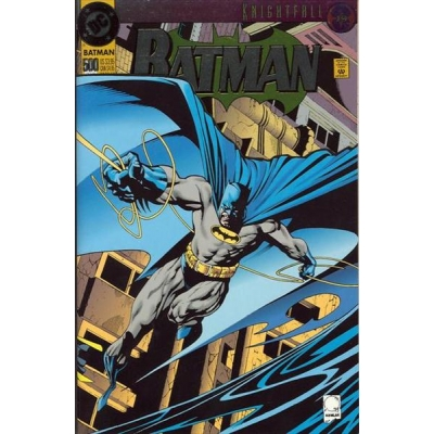 Batman [1940] - 500 [Deluxe Cover - Foil Embossed]