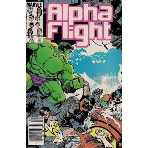 Alpha Flight [1983] - 29
