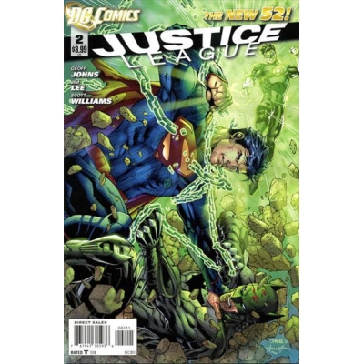 Justice League [2011] - 2 [First Printing]