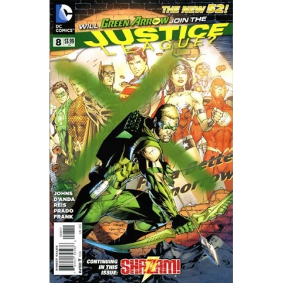 Justice League [2011] - 8 [Jim Lee Cover]
