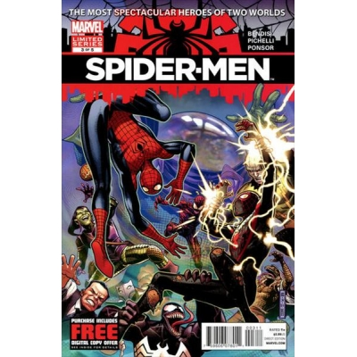 Spider-Men [2012] - 3 [First Printing]