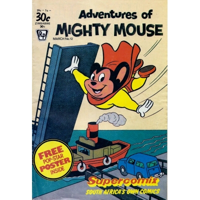 Adventures of Mighty Mouse [Supercomix] - 12