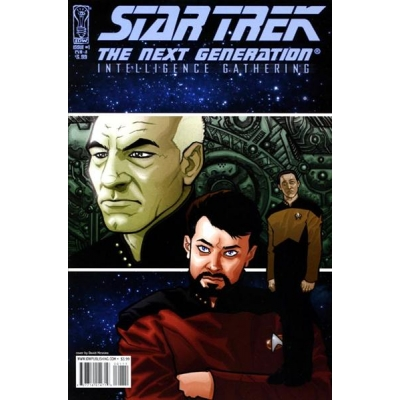 Star Trek: The Next Generation : Intelligence Gathering [2008] - 1 [Cover 1A]