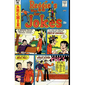 Reggie's Wise Guy Jokes [196..