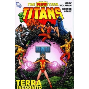 New Teen Titans - Terra Icog..
