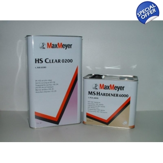 HS Clear 0200 Lacquer Kit 7.5 Litre