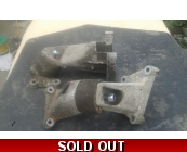 7/9 early solid rubber engine mount brackets