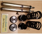 Short front strut DIY coilover conversion kit