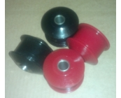 Poly wishbone bushes Rear pair