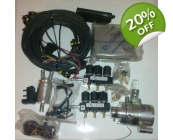 5 cylinder LPG conversion kit 850, S/V/C70 inclu..