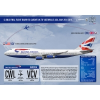 British Airways Boeing 747-436 G-..
