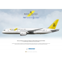 Royal Brunei Airlines Boeing 787-..