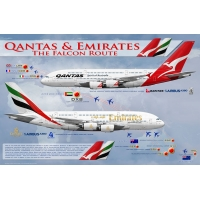 Qantas & Emirates Partnership Air..