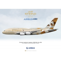 Etihad Airways Airbus A380-861 A6..