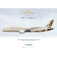 Etihad Airways Boeing 787-9 Dream..
