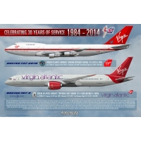 Virgin Atlantic Airways 30 Years ..