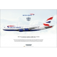 British Airways Airbus A380-841 G..