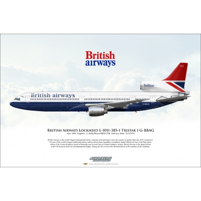 British Airways Lockheed L-1011-385-1 Tristar 1 G-BBAG
