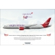 Virgin Atlantic Airways Birthday Girl Boeing 787..
