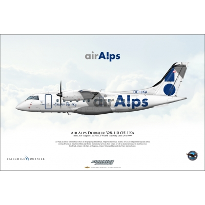Air Alps Dornier 328-110 OE-LKA