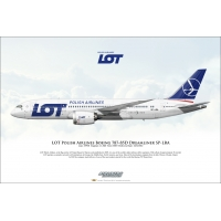 LOT Polish Airlines Boeing 787-85..