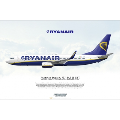 Ryanair Boeing 737-8AS EI-EBT