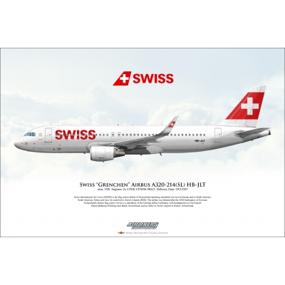 "Swiss ""Grenchen"" Airbus A320-214SL HB-JLT"