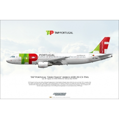 "TAP Air Portugal ""Grão Vasco"" Airbus A320-211 CS-TNA"
