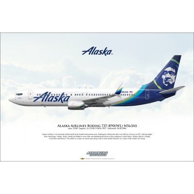 Alaska Airlines Boeing 737-890 N563AS