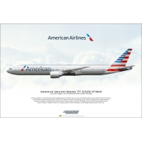 American Airlines Boeing 777-323E..