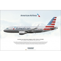 American Airlines Airbus A319-115..