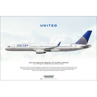 United Airlines Boeing 757-224 N1..