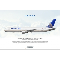 United Airlines Boeing 767-322ER ..