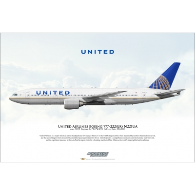 United Airlines Boeing 777-222ER N221UA