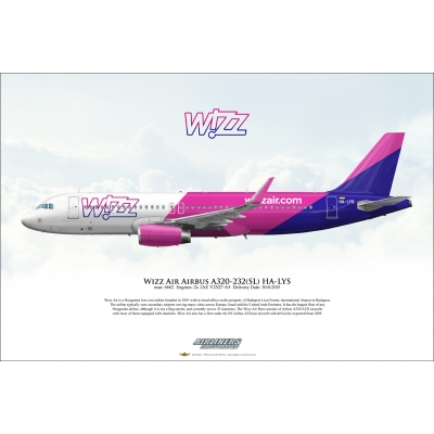 Wizz Air Airbus A320-232SL HA-LYS