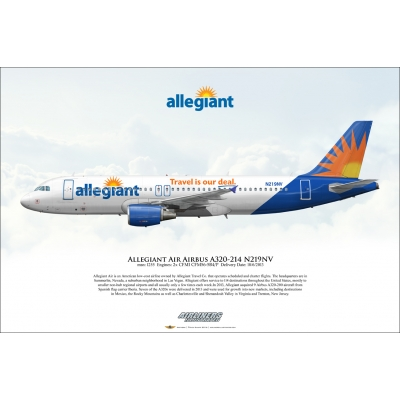 Allegiant Air Airbus A320-214 N219NV