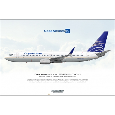 Copa Airlines Boeing 737-8V3 HP-1720CMP