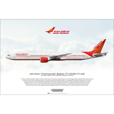 "Air India ""Chattisgarh"" Boeing 777-337ER VT-ALK"