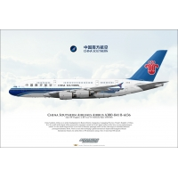 China Southern Airlines Airbus A3..